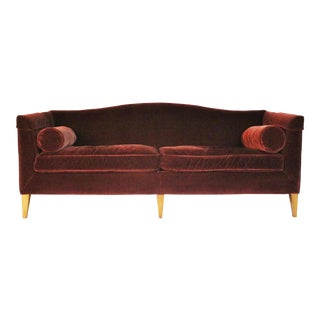 Baker Archetype Sofa Model #2386-80 For Sale