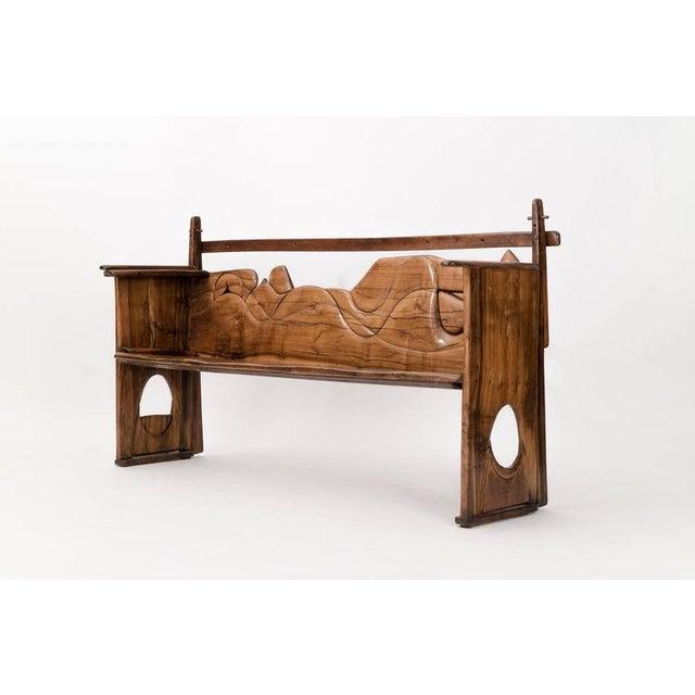 Jan De Swart Sculptural Bench For Sale - Image 9 of 9