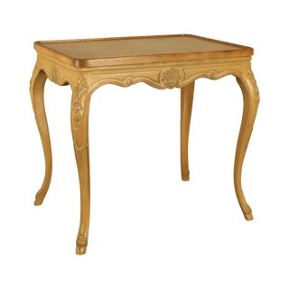 French Louis XV Style Custom Quality Vintage Side Table For Sale