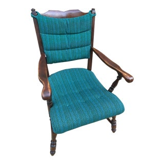 1930s Antique Upholstered Chair For Sale