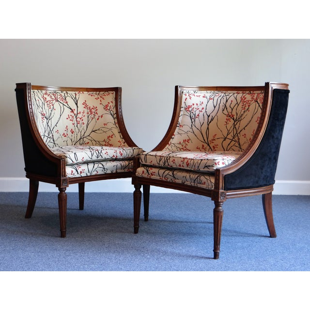 Louis XVI Barrel Chair - A Pair - Image 3 of 8