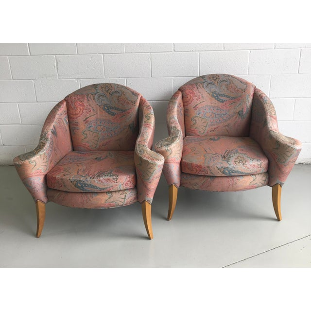 Thayer Coggin Design Studio Vintage Lounge Chairs - a Pair For Sale - Image 13 of 13