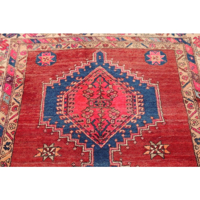 Ardebil Persian Runner Rug - 3′8″ × 7′4″ - Image 2 of 4