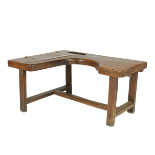 1890s French Walnut Cobbler's Bench For Sale