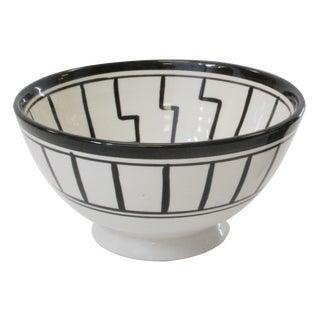 Tapis Design Black & White Cereal Bowl