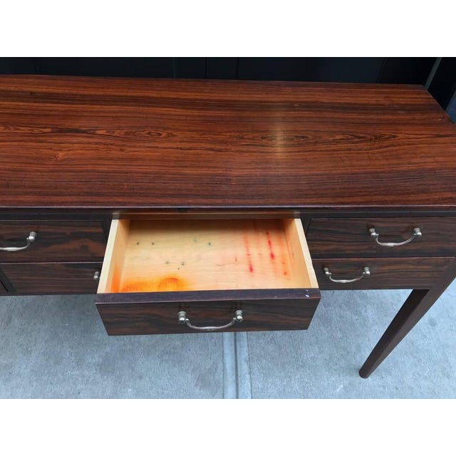 Early Ole Wanscher Rosewood Server Table Danish A. J. Iversen - Image 8 of 8