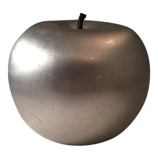 Vintage Lacquered Metallic Apple