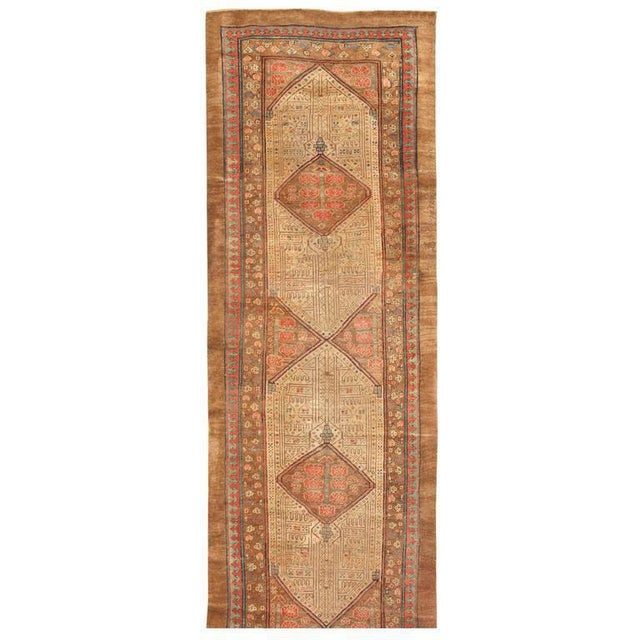 Antique 19th century North West Persian runner. Contact dealer.