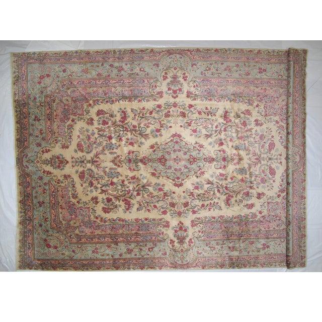 """Leon Banilivi Lavar Kerman Carpet - 9'7"""" X 14'4"""" - Image 2 of 6"""