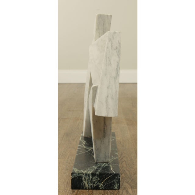 Richard H. Bailey Geometric Marble Sculpture For Sale - Image 4 of 13