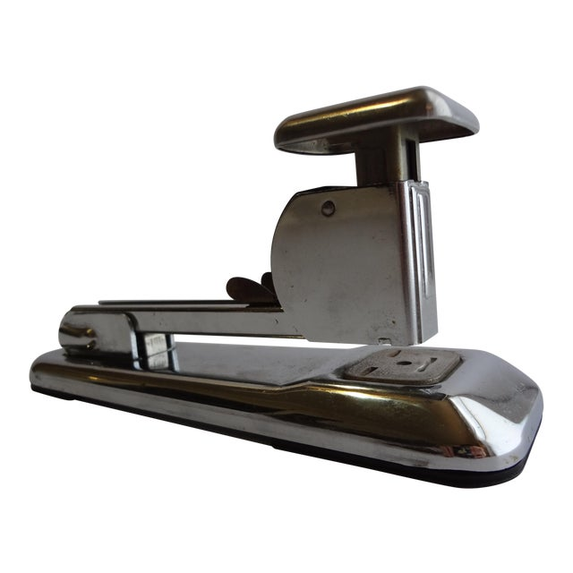 Vintage Arrow Chrome Desk Stapler For Sale