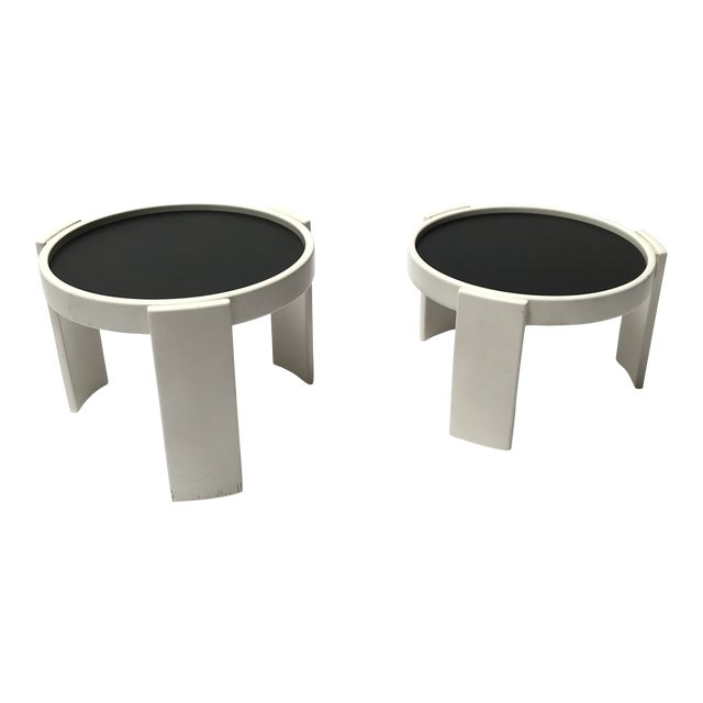 Cassina Stacking Side Tables For Sale