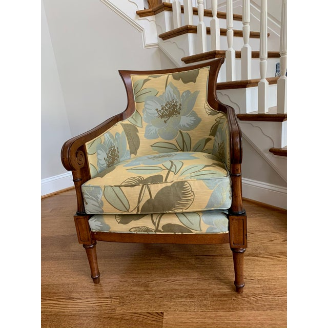 Tommy Bahama Style Upholstered Side Chair For Sale In Washington DC - Image 6 of 6