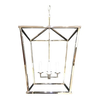 E F Chapman for Visual Comfort Darlana 4-Light Chandelier For Sale