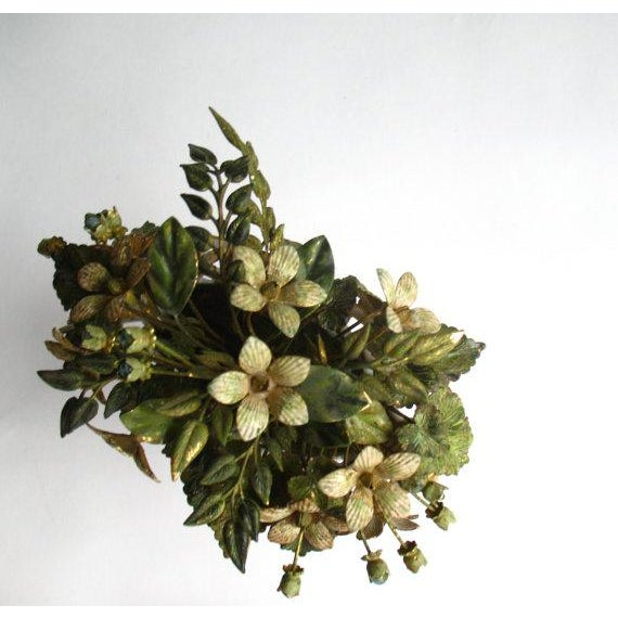 Jane Hutcheson for Gorham French Style Porcelain Flower Arrangement For Sale - Image 6 of 7