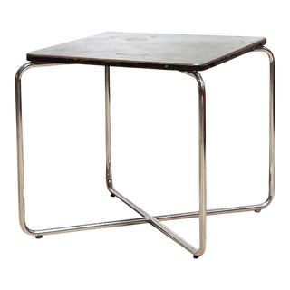 Circa 1930 Marcel Breuer Occasional Table for Bigla For Sale