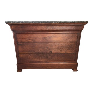 19th Century French Provincial Louis Phillips Chest of Drawers For Sale