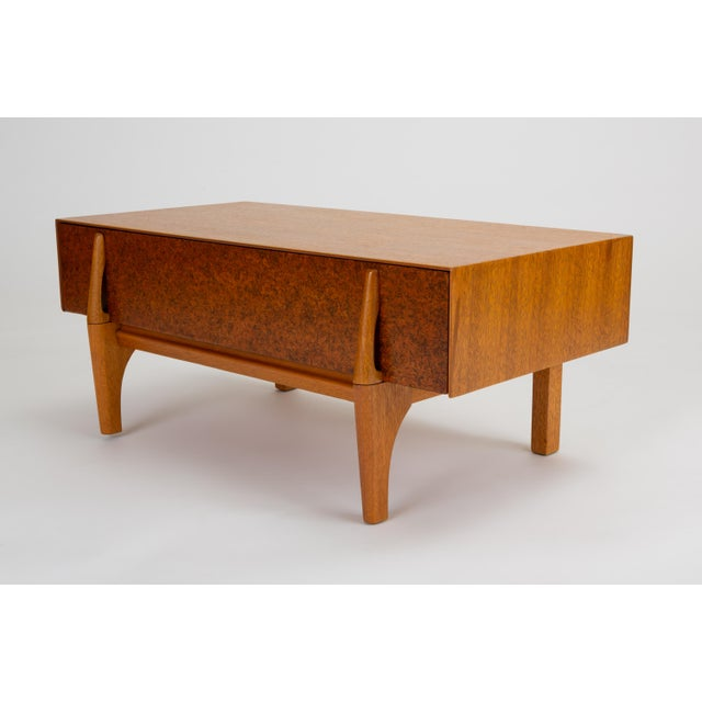Single Bench With Storage by John Keal for Brown Saltman For Sale - Image 13 of 13