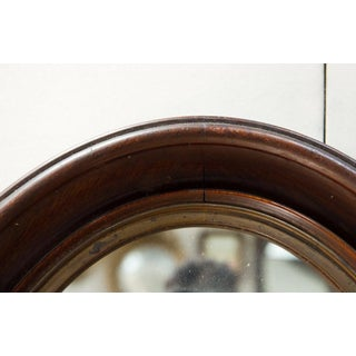 Small Walnut Oval Wall Mirror Preview