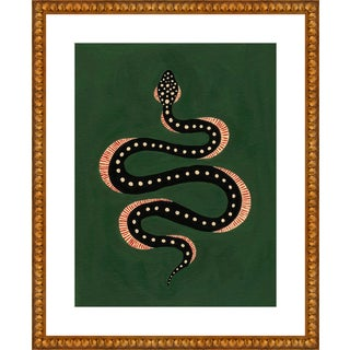"Medium ""Apple the Snake"" Print by Willa Heart, 26"" X 32"" For Sale"