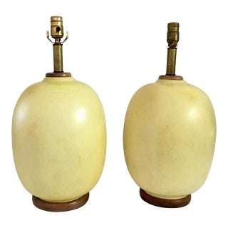 Mid-Century Modern Lamps - a Pair For Sale