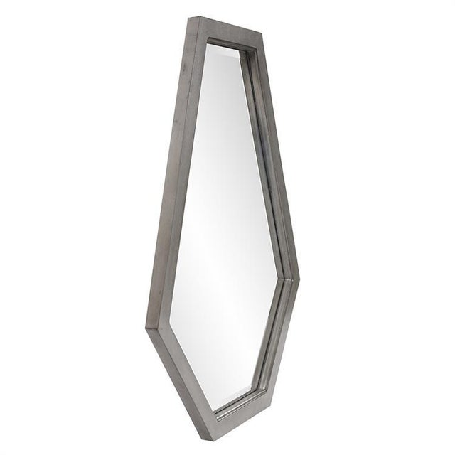 2020s Deacon Silver Mirror from Kenneth Ludwig Chicago For Sale - Image 5 of 6