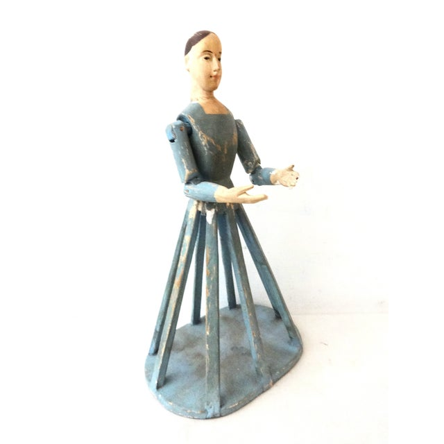 Hand Carved Wood Articulated Hands Doll/Mannequin - Image 5 of 6