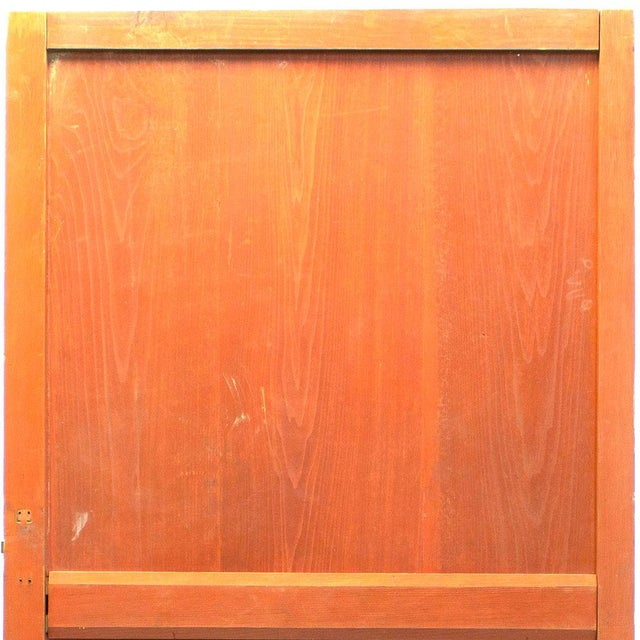 Japanese Japanese Solid Wooden Door For Sale - Image 3 of 7