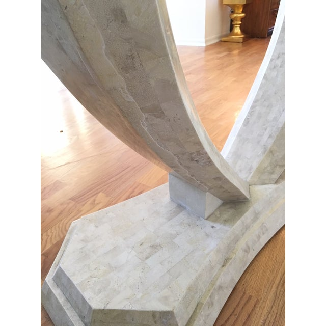 Robert Marcius for Casa Bique Tessellated Stone Console Table For Sale - Image 5 of 6