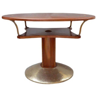 Unusual Secessionist Game Table For Sale