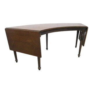 Rosewood Drop Leaf Coffee Table