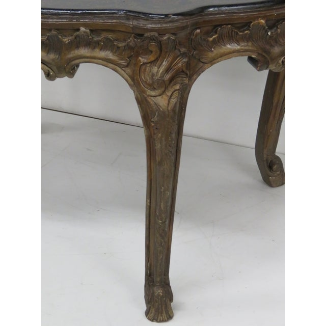 Carved Chinoiserie Decorated Coffee Table - Image 3 of 10
