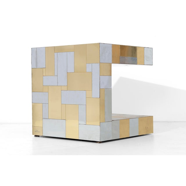 Paul Evans Cityscape Side Table For Sale - Image 5 of 8