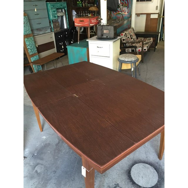 Danish Style Mid Century Modern Dining Table - Image 7 of 9