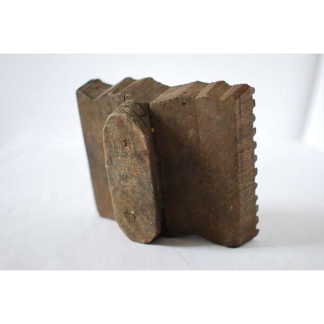 Vintage Wood Print Block - Image 5 of 5