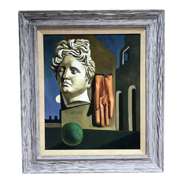 "After Gorgio De Chirico ""The Song of Love"" For Sale"