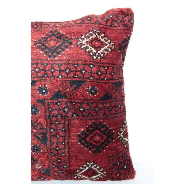 Home Decor Vintage Carpet Pillow For Sale - Image 5 of 9