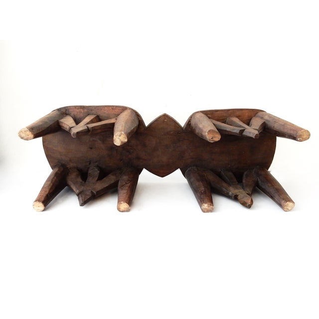 Vintage Nupe Eight-Legged Stool - Image 8 of 8
