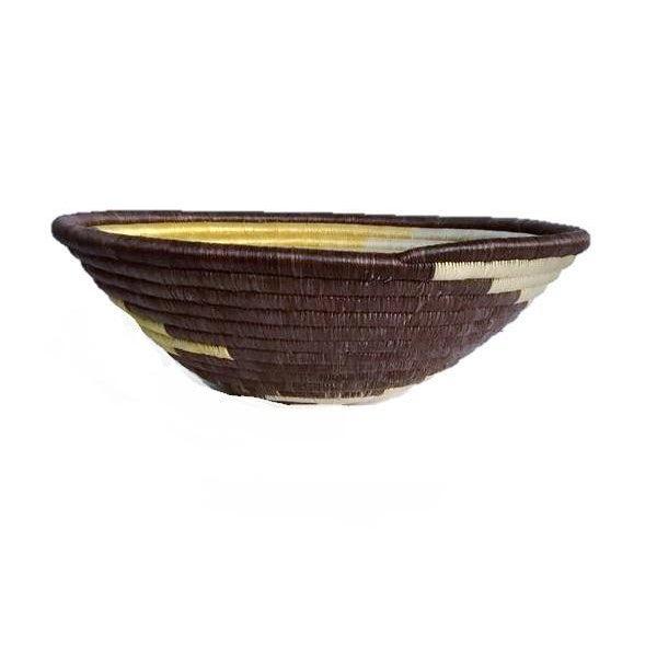 African Boho Woven Basket - Image 4 of 6