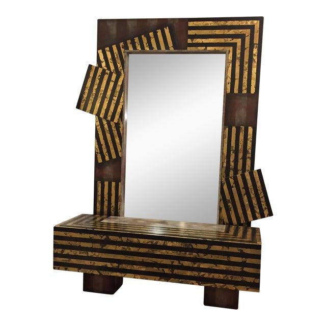 Original Mutrux Shelf Kesler Art Mirror - Image 1 of 9