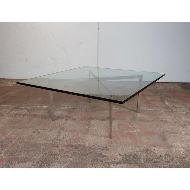 Knoll Studio Barcelona Coffee Table -Mies Van Der Rohe For Sale - Image 4 of 9