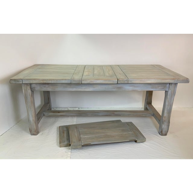 This impressive farm table is by celebrated craftsman Christian Robert, who previously sold in Liberty's of London (a...