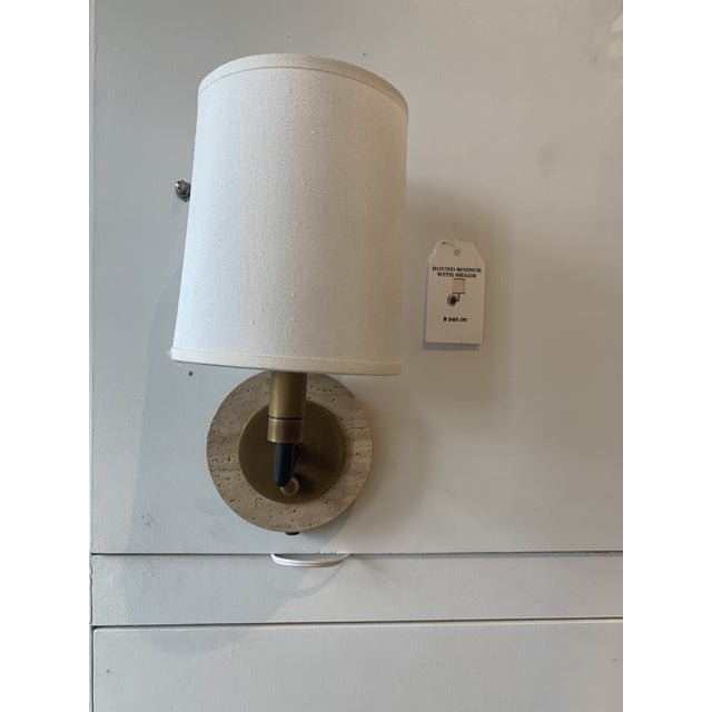2010s Robert Abbey Axis Wall Sconce For Sale - Image 5 of 5
