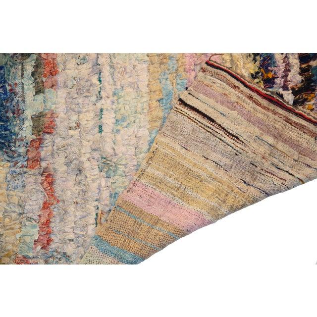 Vintage Boucherouite Rug Rag - 3′8″ × 6′ - Image 3 of 3