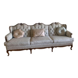 1970s Vintage French Provincial Style Sofa For Sale