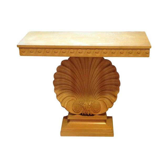 Edward Wormley for Dunbar Shell Console Table For Sale