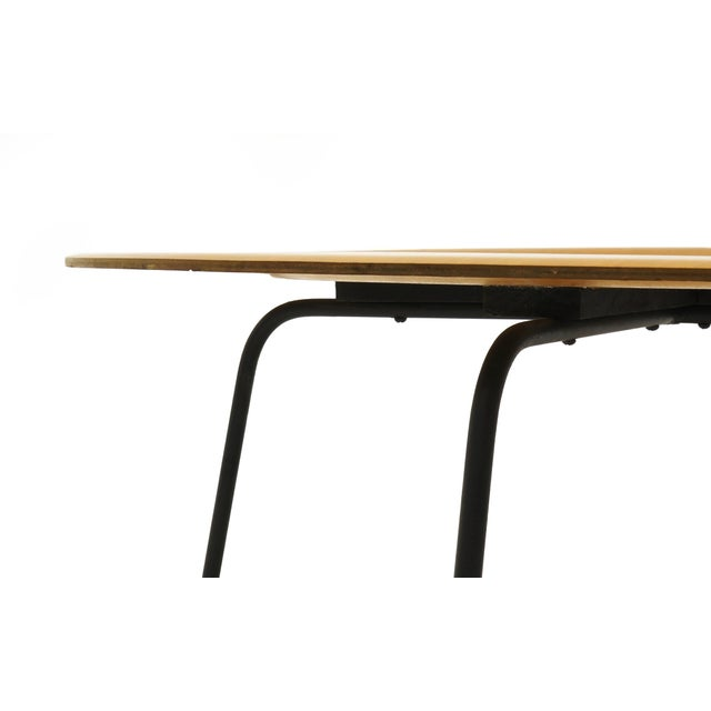 Early Second Generation Eames CTM Coffee Table Metal Legs, Expertly Restored For Sale In Kansas City - Image 6 of 9
