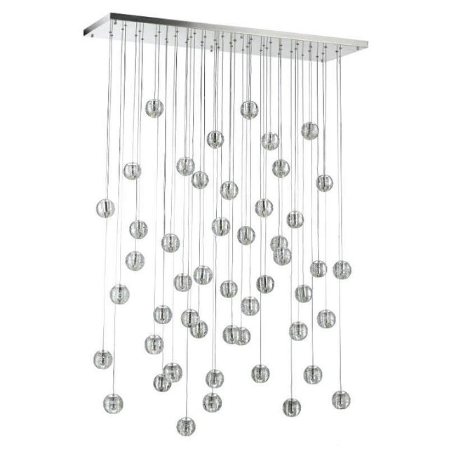 Modern Meteor Shower Chandelier For Sale - Image 11 of 11