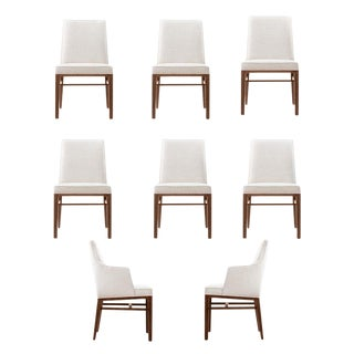 Edward Wormley Set of Eight Dining Chairs For Sale