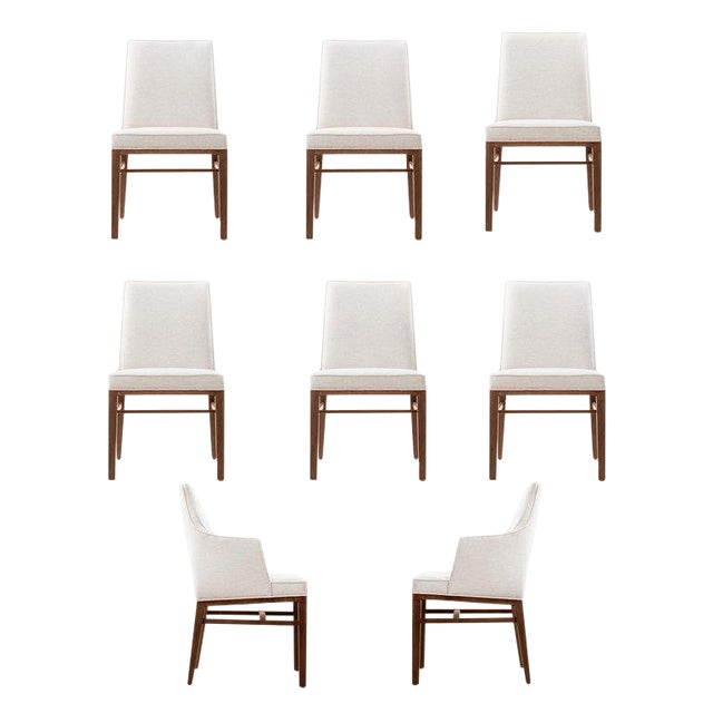 Edward Wormley Set of Six Dining Chairs For Sale